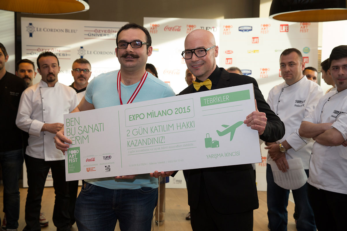 Unilever Food Art Festival Istanbul 2015