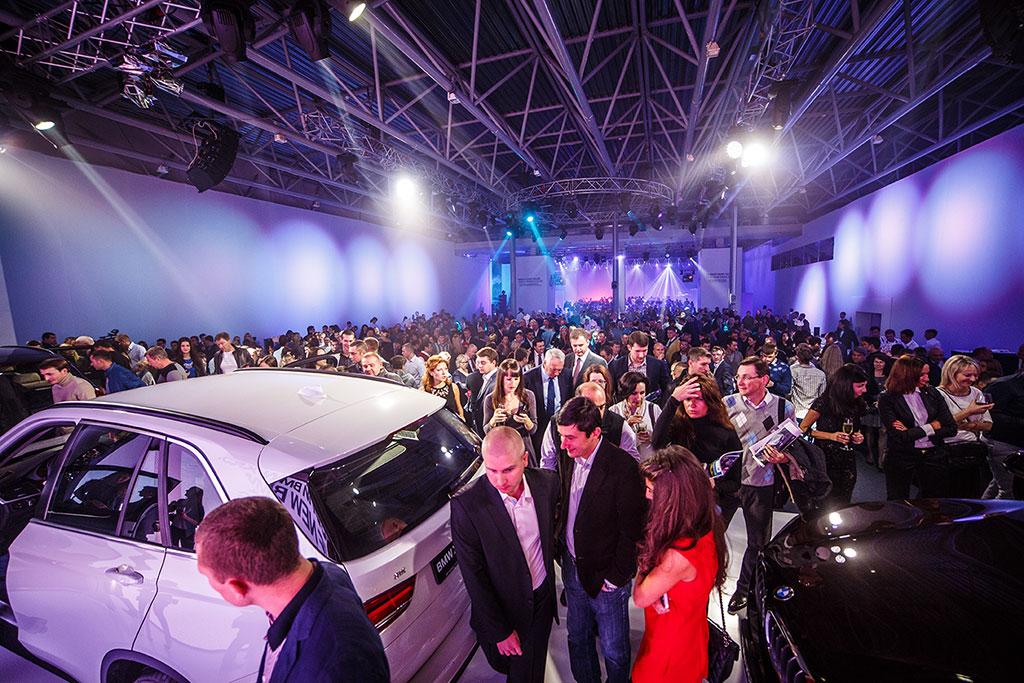 BMW Kiev Luanch