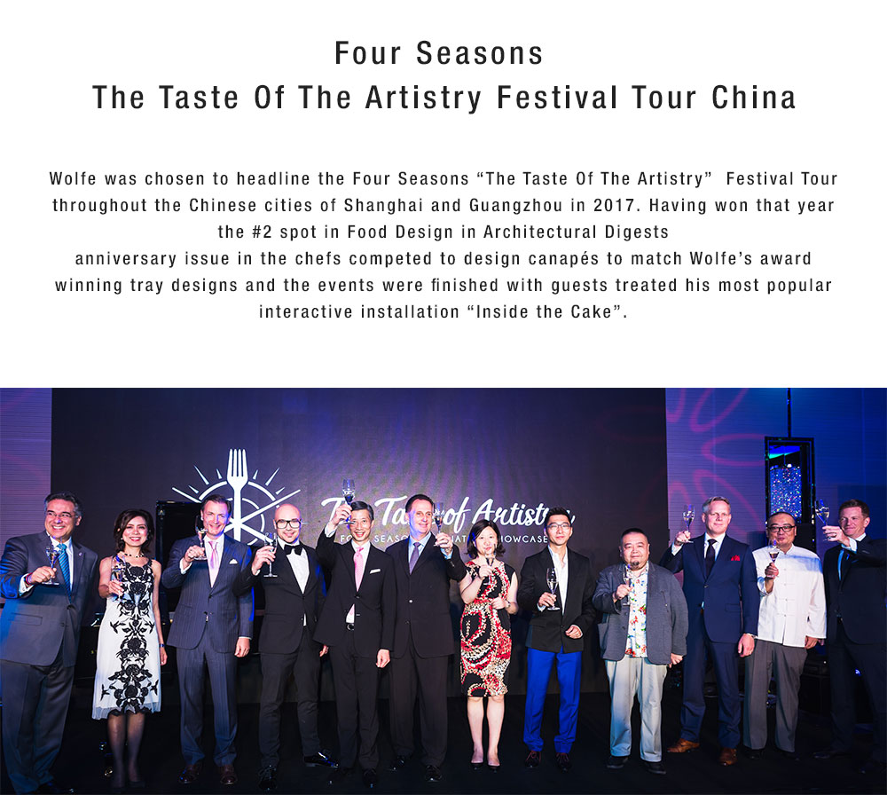 Four Seasons The Taste of the Artistry Festival Tour China